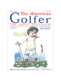 The American Golfer April 4, 1925 Regular Giclee Print by James Montgomery Flagg
