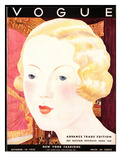 Vogue Cover - October 1932 Regular Giclee Print by Georges Lepape