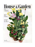House & Garden Cover - January 1951 Reproduction procédé giclée par William Grigsby