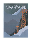 The New Yorker Cover - January 27, 1975 Giclee Print by Charles E. Martin