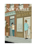 The New Yorker Cover - June 9, 2008 Giclee Print by Adrian Tomine