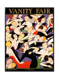 Vanity Fair Cover - February 1926 Reproduction proc&#233;d&#233; gicl&#233;e par A. H. Fish