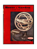 House & Garden Cover - February 1931 Giclee Print by André E. Marty
