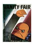 Vanity Fair Cover - October 1932 Regular Giclee Print by Miguel Covarrubias