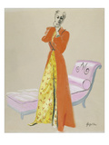 Vogue - October 1937 Giclee Print by R.S. Grafstrom