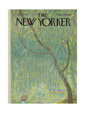 The New Yorker Cover - July 15, 1967 Giclee Print by Ilonka Karasz