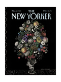 The New Yorker Cover - May 1, 1989 Regular Giclee Print by Pamela Paparone