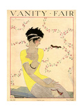 Vanity Fair Cover - July 1918 Regular Giclee Print by Georges Lepape
