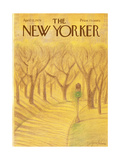 The New Yorker Cover - April 12, 1976 Regular Giclee Print by Eugène Mihaesco