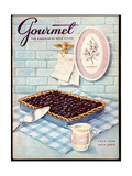 Gourmet Cover - July 1956 Giclee Print by Hilary Knight