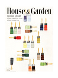 House & Garden Cover - March 1951 Regular Giclee Print by Herbert Matter