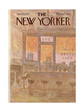 The New Yorker Cover - April 28, 1975 Regular Giclee Print by James Stevenson