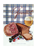Gourmet Cover - June 1944 Regular Giclee Print by Henry Stahlhut