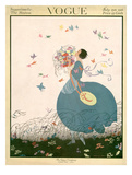 Vogue Cover - July 1916 Giclee Print by Helen Dryden
