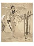 "Vogue - December 1948 Giclee Print by Carl ""Eric"" Erickson"