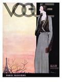 Vogue Cover - October 1930 Regular Giclee Print van Georges Lepape