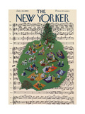 The New Yorker Cover - July 23, 1955 Regular Giclee Print by Ilonka Karasz