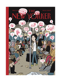 The New Yorker Cover - February 12, 2007 Regular Giclee Print by David Heatley