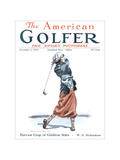The American Golfer December 1, 1923 Regular Giclee Print by James Montgomery Flagg