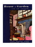 House & Garden Cover - September 1930 Giclee Print by Pierre Brissaud