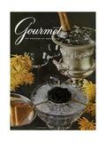 Gourmet Cover - January 1961 Giclee Print by Arthur Palmer
