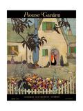 House & Garden Cover - April 1917 Regular Giclee Print by Porter Woodruff