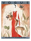 Vogue Cover - August 1930 Giclee Print by Eduardo Garcia Benito