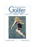 The American Golfer December 31, 1921 Regular Giclee Print by James Montgomery Flagg
