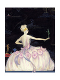 Vogue - October 1920 Giclee Print by Robert Kalloch