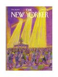 The New Yorker Cover - December 18, 1978 Regular Giclee Print par Eugène Mihaesco