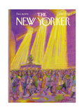 The New Yorker Cover - December 18, 1978 Regular Giclee Print by Eugène Mihaesco