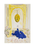 Vogue - May 1935 - Lady Mendl Regular Giclee Print by Cecil Beaton