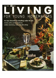 Living for Young Homemakers Cover - May 1958 Regular Giclee Print by Ernest Silva