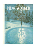 The New Yorker Cover - February 28, 1959 Regular Giclee Print by Edna Eicke