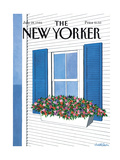 The New Yorker Cover - July 28, 1986 Giclee Print by Judith Shahn
