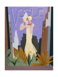 Vogue - June 1928 Regular Giclee Print by William Bolin