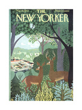 The New Yorker Cover - May 26, 1962 Regular Giclee Print by Charles E. Martin