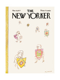 The New Yorker Cover - March 28, 1977 Regular Giclee Print by Douglas Florian