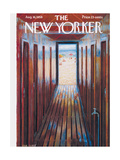 The New Yorker Cover - August 16, 1958 Giclee Print by Edna Eicke