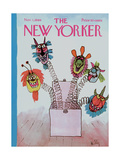 The New Yorker Cover - November 1, 1969 Regular Giclee Print by William Steig