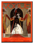 Vogue Cover - March 1929 Regular Giclee Print by Georges Lepape