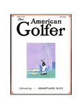 The American Golfer April 1928 Giclee Print