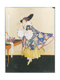 Vogue - January 1915 Regular Giclee Print by E.M.A. Steinmetz