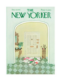 The New Yorker Cover - December 13, 1976 Giclee Print by Laura Jean Allen