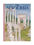 The New Yorker Cover - July 28, 1962 Regular Giclee Print by Beatrice Szanton