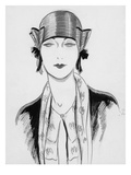 Vogue - March 1929 Giclee Print by Porter Woodruff