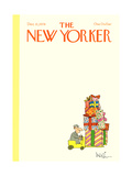 The New Yorker Cover - December 11, 1978 Regular Giclee Print by Arnie Levin