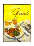 Gourmet Cover - January 1953 Giclee Print by Henry Stahlhut