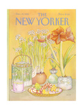 The New Yorker Cover - December 27, 1982 Regular Giclee Print by Jenni Oliver