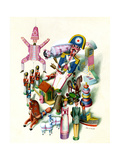 House & Garden - November 1944 Giclee Print by Jan B. Balet